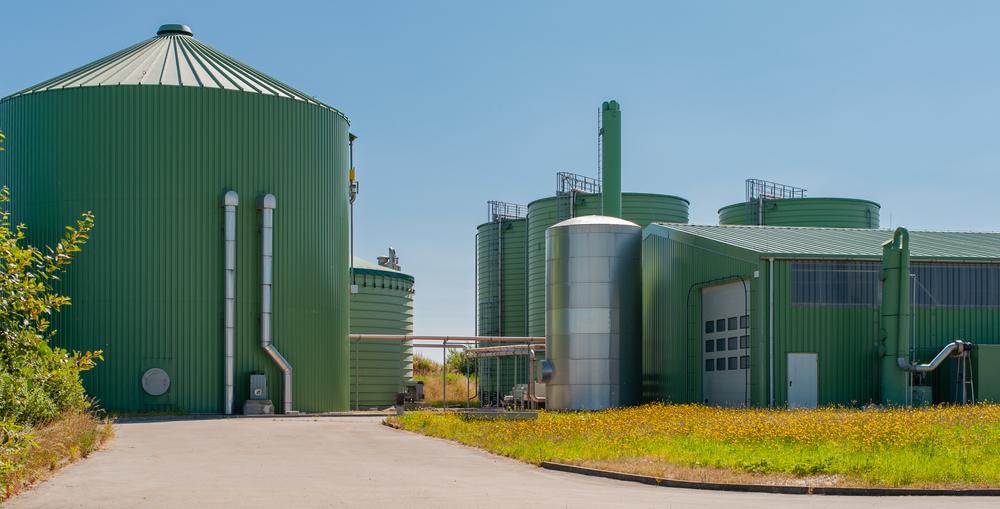 Modern biogáz üzem
